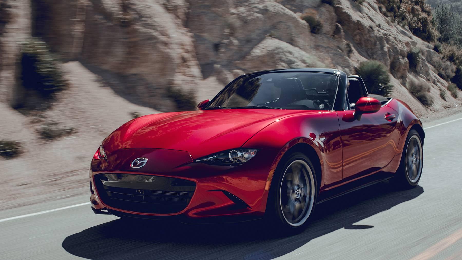 2019 Mazda Mx 5 Miata Convertible Sports Car