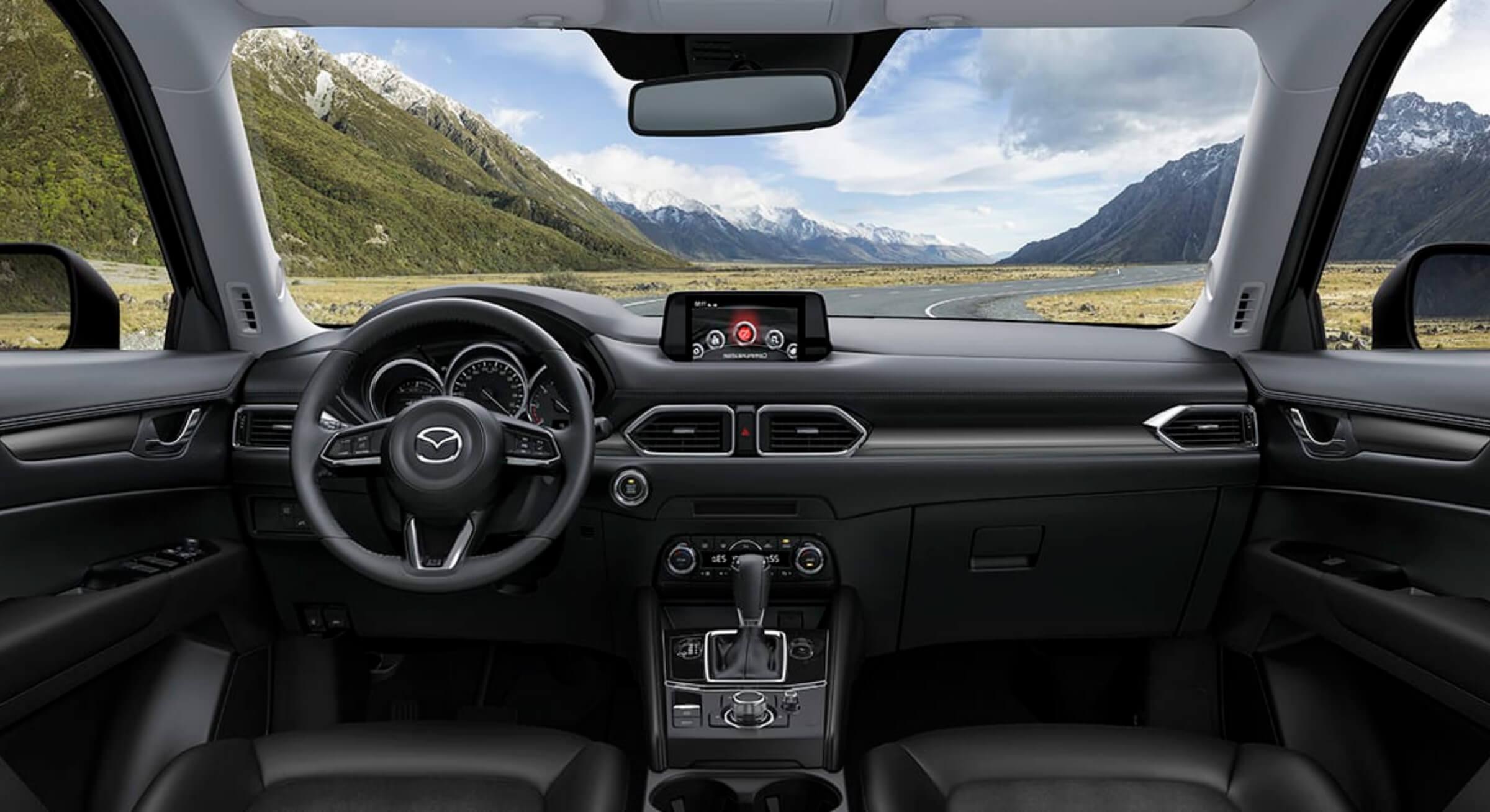 Black Leather Mazda Cx5 Interior Foto 3