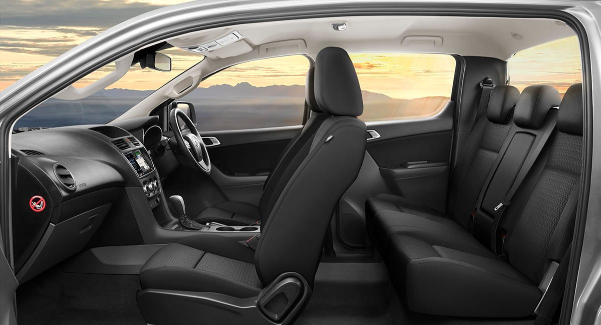 Black Cloth Xtr Bt 50 Dual Cab Xtr At Black Cloth Interior R Rgb