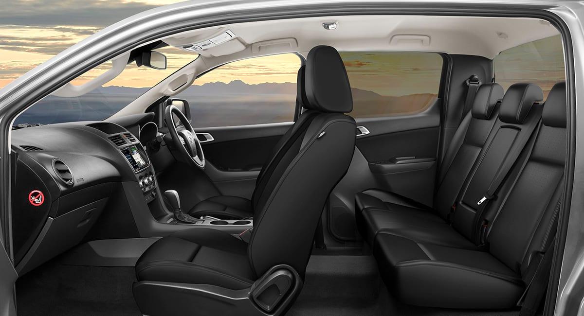 Black Leather Bt 50 Dual Cab Gt At Black Leather Interior R Rgb