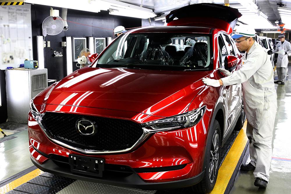 mazda celebrates 50 million vehicles made in japan - mazda - qatar