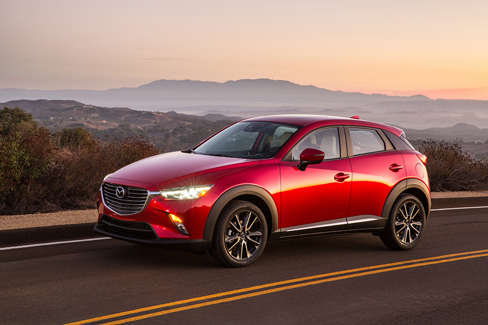 Mazda introduces the stunning compact cross over, new 2017 cx3 awd