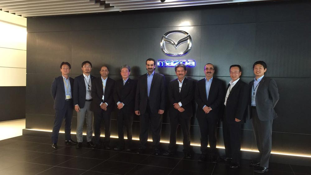 MAZDA RENEWS ITS FOCUS ON BRAND VALUE ENHANCEMENT IN QATAR