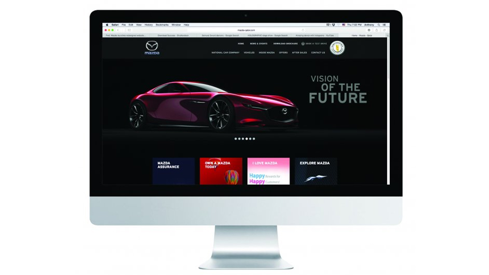 NATIONAL CAR COMPANY LAUNCHES REDESIGNED MAZDA WEBSITE